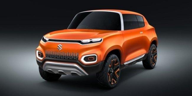 Концептуальный «паркетник»: Suzuki представила кроссовер Future S Concept