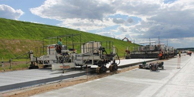 «Укравтодор» будет строить бетонные дороги