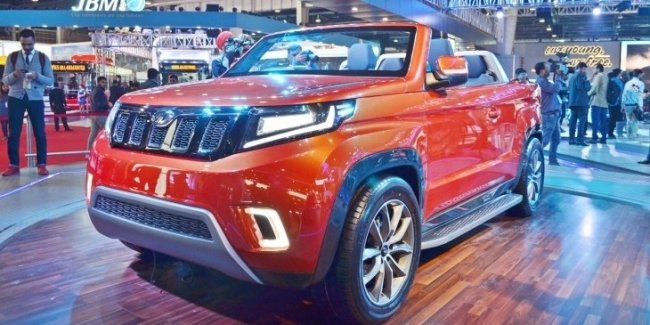 Mahindra показала кабриолет-внедорожник TUV Stinger Concept