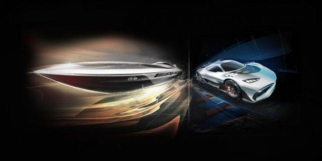 Американская верфь выпустит катер в стиле гиперкара Mercedes-AMG Project One