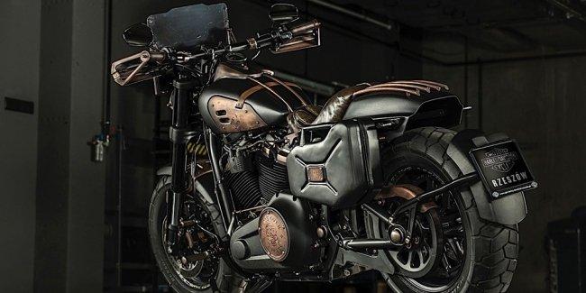BOTK 2018: кастом Harley-Davidson Fat Max