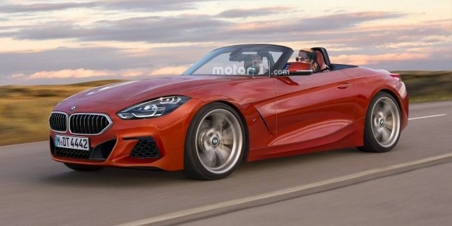 Серийный BMW Z4: новые изображения