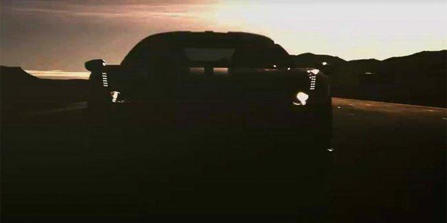 Ferrari показала на видео свой новый суперкар