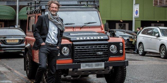 Mercedes-Benz поможет британскому бизнесмену возродить Defender