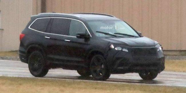 Honda вывела на тесты обновлённый Pilot