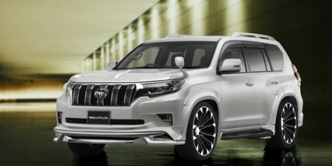 Wald International представил новый стайлинг для Toyota Land Cruiser Prado и Harrier