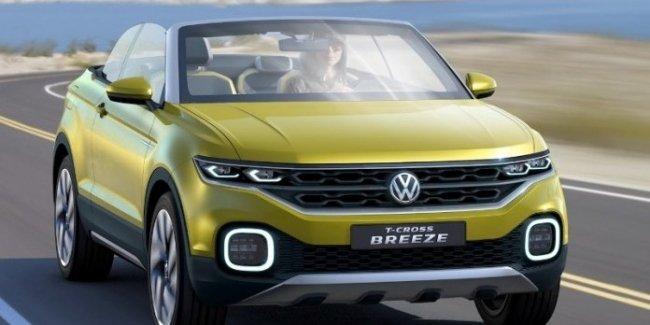 Volkswagen выпустит кроссовер без крыши
