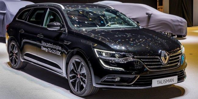 Флагманские седан и универсал Renault получили мотор от Megane RS