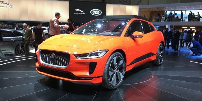 «Не Теслой единой!», компания Jaguar презентовала электрокар – i-Pace