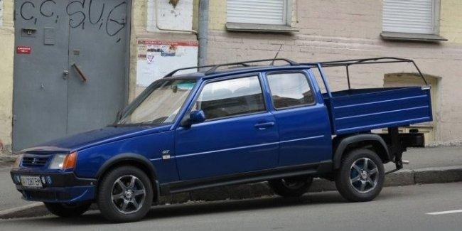 В Украине замечена экспериментальная модель «Таврии»