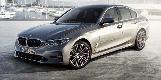 Новый BMW 3-Series G20: первые изображения