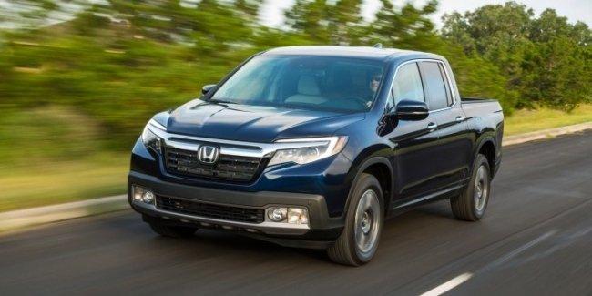 Компания Honda «обновила» пикап Ridgeline
