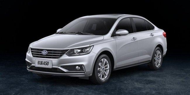 На рынок выходит новый седан FAW Junpai A50