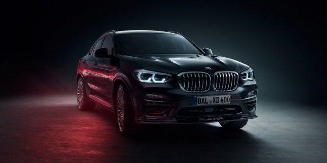 Alpina представила свою версию нового BMW X4