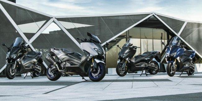 Максискутер Yamaha T-Max в спортивном обличье
