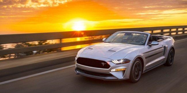 Ford представил уникальный кабриолет Mustang GT California Special