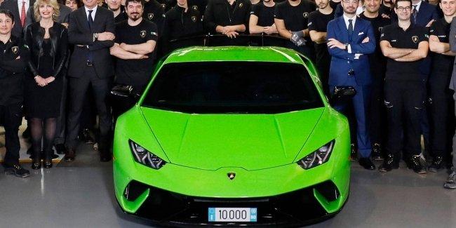 Lamborghini выпустила 10-тысячный Huracan