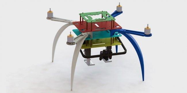 Ford придумал аналог автомобильных номеров для дронов