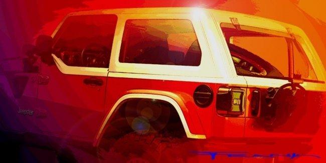 Новый Jeep Wrangler подготовили для пасхального сафари