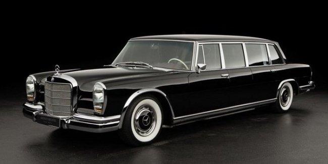 Старый Mercedes 600 продают по цене нового гиперкара