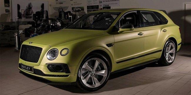 Bentley показала особую Bentayga для «Гонки в облаках»
