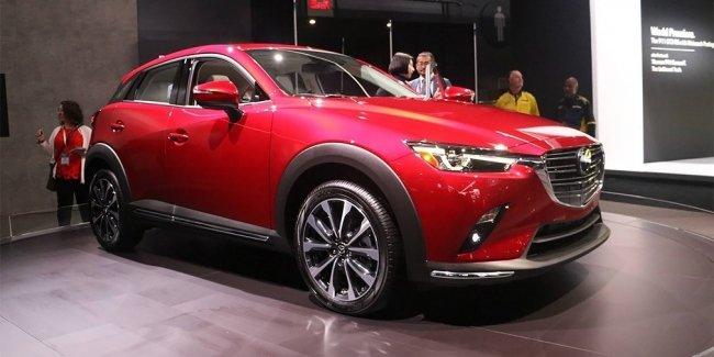 Mazda обновила кроссовер CX-3