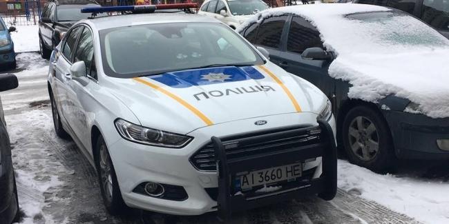 В Украине засняли полицейский Форд спецназначения