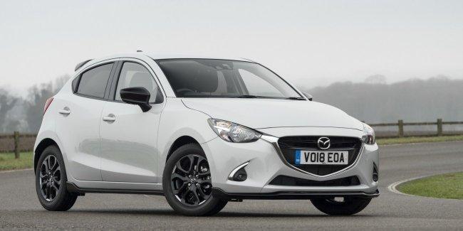 Хэтчбек Mazda2 получил спецверсию Sport Black