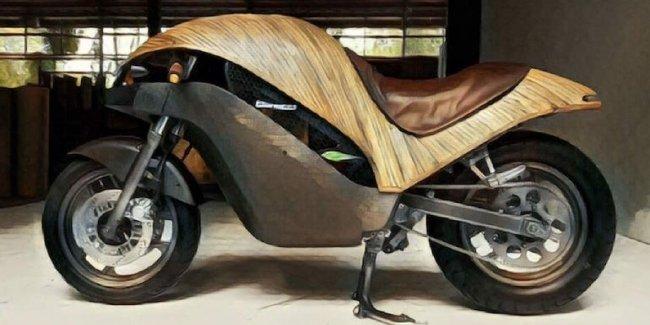 Филиппинцы построили бамбуковый электробайк