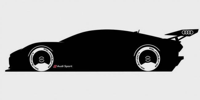 Виртуальный электрический суперкар Audi показали на видео