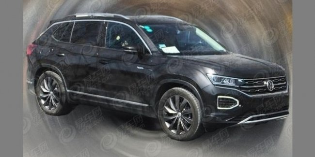 Новый кроссовер Volkswagen Tayron замечен на тестах