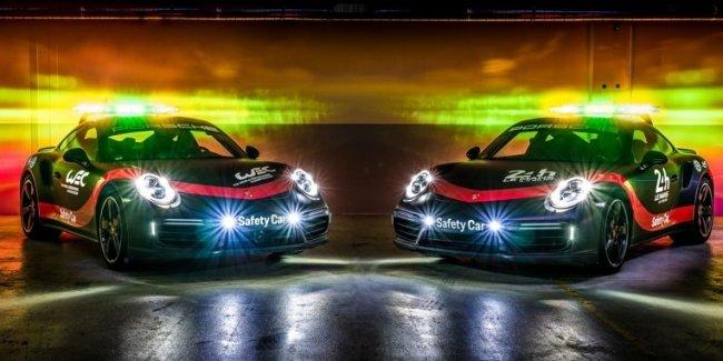 Porsche построил машину безопасности для марафонских гонок