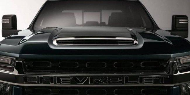 Новый пикап Chevrolet Silverado HD: первое официальное фото