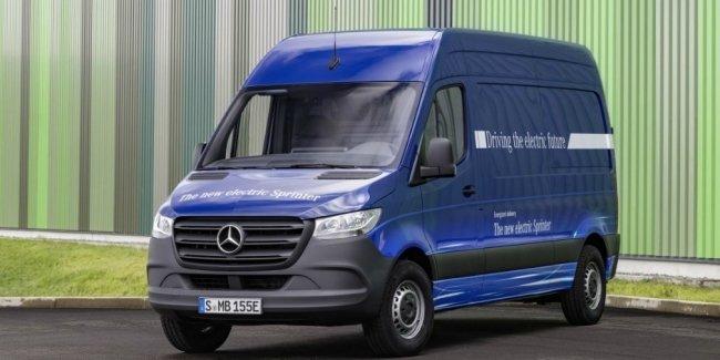 Mercedes рассказал об электрической версии нового Sprinter