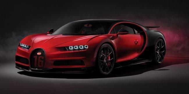 Bugatti создала систему слежки за своими гиперкарами