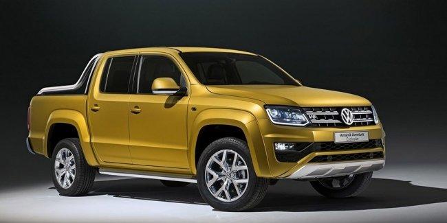 Volkswagen представил самый мощный Amarok