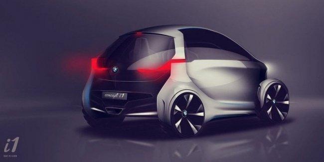 Каким будет компактный электрокар BMW i1