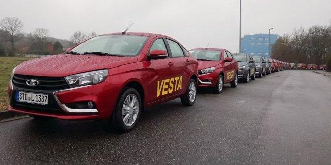 Европейцы разочаровались в российских автомобилях