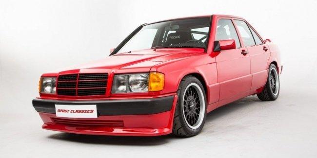 Старый Mercedes 190 оценили как новый Porsche 911 Turbo