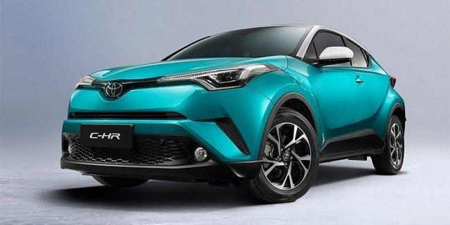 Кроссовер Toyota C-HR превратится в электромобиль