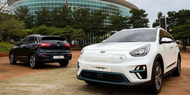 Электрический кроссовер KIA Niro EV представлен официально
