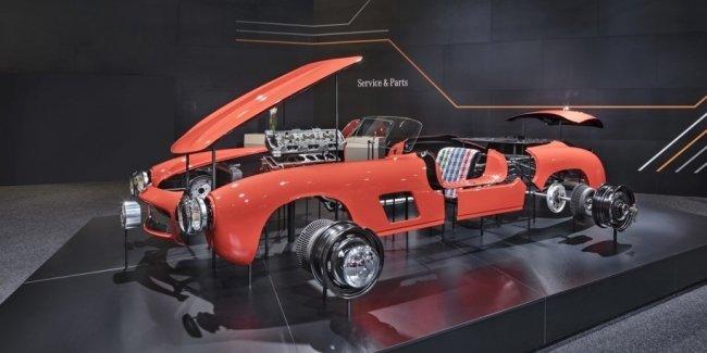 Mercedes-Benz начал делать запчасти для 61-летнего спорткара