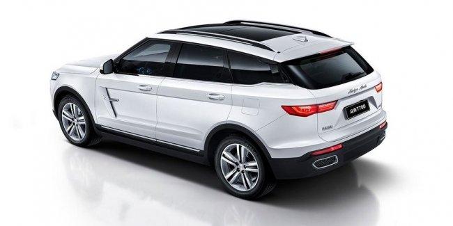 Кроссовер Zotye с дизайном «под Range Rover» показался на новых фото