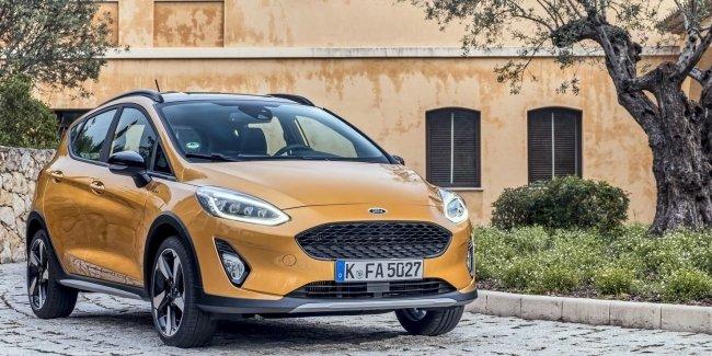 Новый Ford Fiesta Active уже в Европе