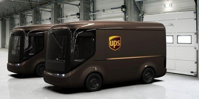 Курьерская служба UPS построит собственные электрофургоны