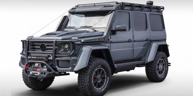 Brabus подготовил Mercedes-Benz G-Class к приключениям