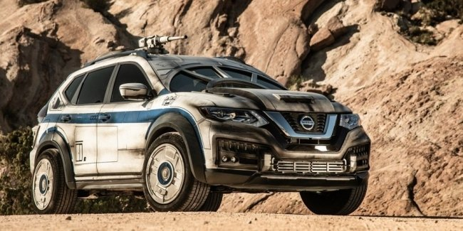 Nissan превратил X-Trail в «Тысячелетнего сокола»