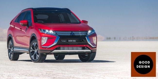 Mitsubishi Eclipse Cross и GT-PHEV удостоены престижной награды за дизайн