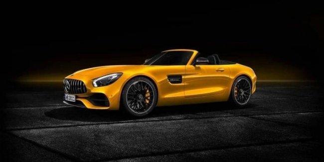 Mercedes представил родстер AMG GT S Roadster