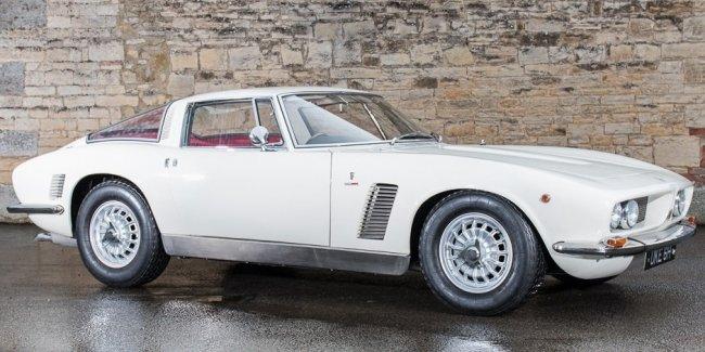 На аукционе продадут итальянский спорткар, принадлежавший гонщику Формулы-1